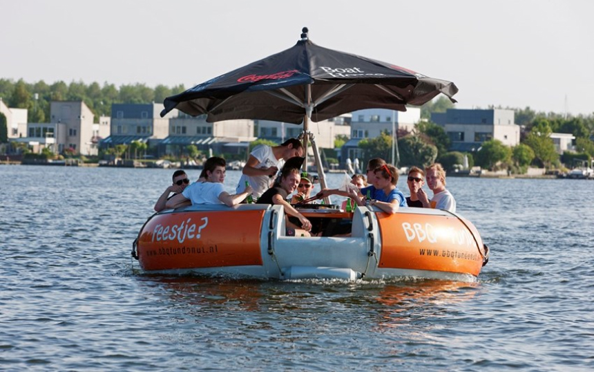 BOEI2 Almere varen door Almere